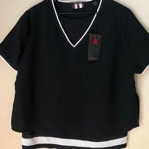 NWT Scotch & Soda Layered Shirt